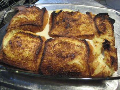 French toast (streng genommen eher ein Scheiterhaufen) nach Smitten Kitchen